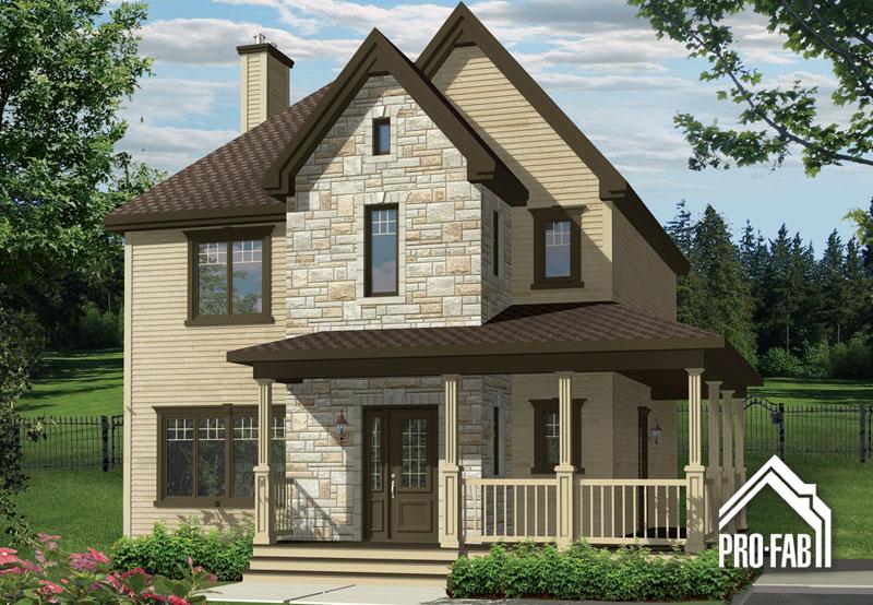 Pro fab constructeur de maisons modulaires usin es pr fabriqu es mod le luxembourg for Maison modele profab
